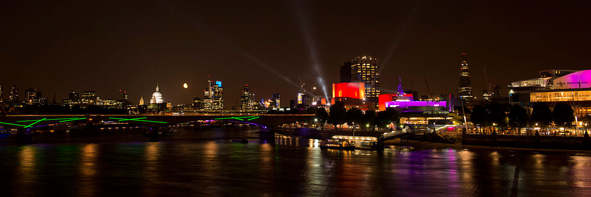 South Bank - Waterloo Bridge