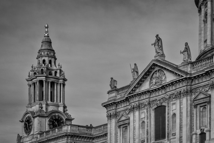 Photograph of South West Tower St Pauls Cathedral