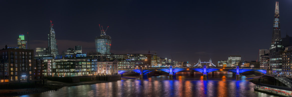 Photograph of Southwark Bridge and Shard 18