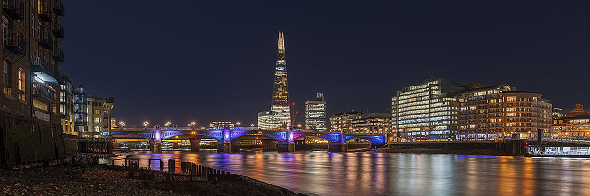 Southwark Bridge and Shard 19
