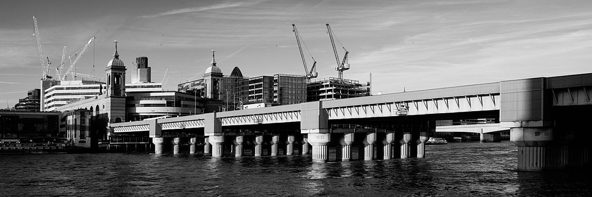 Photograph of Cannon Street Railway Bridge 3