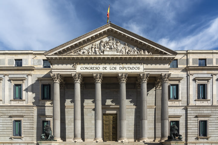 Photograph of Spanish Parliament 2 Madrid
