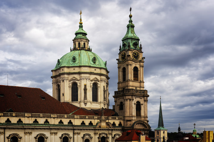 Photograph of St Nicholas Church Prague 2