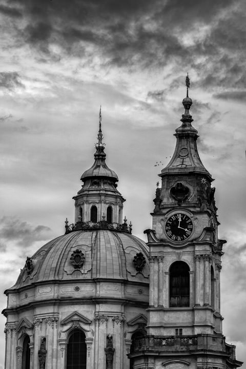 Photograph of St Nicholas Church Prague 4