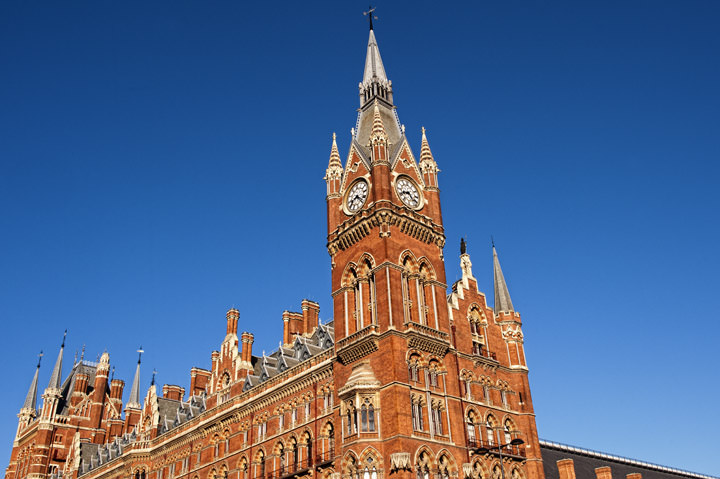 Photograph of St Pancras Station 1