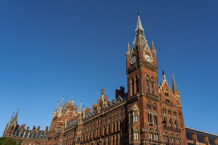Photograph of St Pancras Station 12