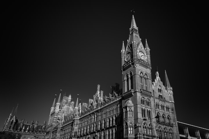 Photograph of St Pancras Station 13