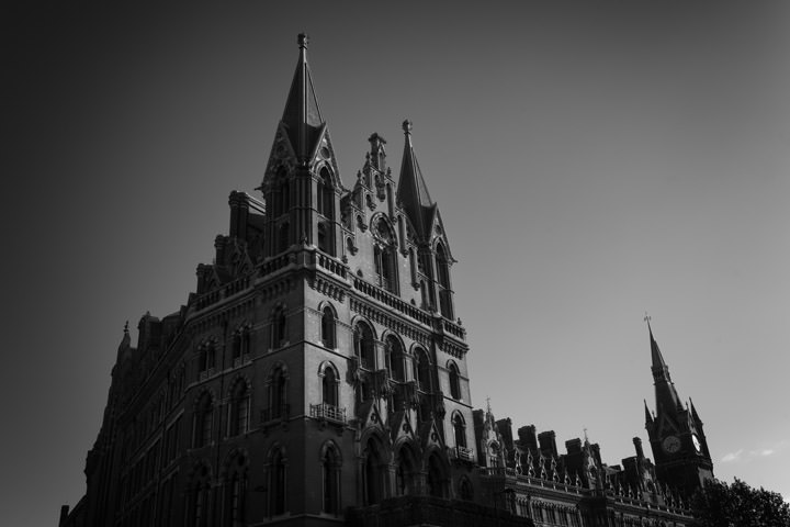 Photograph of St Pancras Station 14