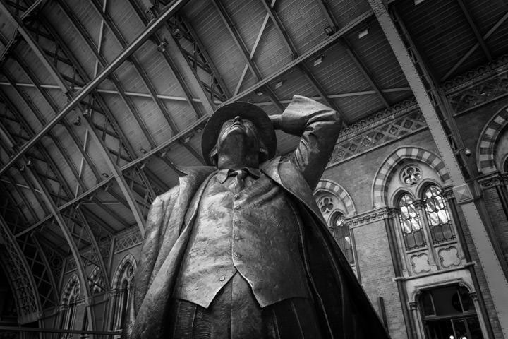 Photograph of St Pancras Station 15