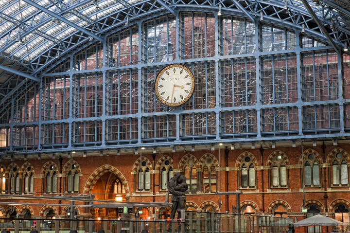 Photograph of St Pancras Station  2