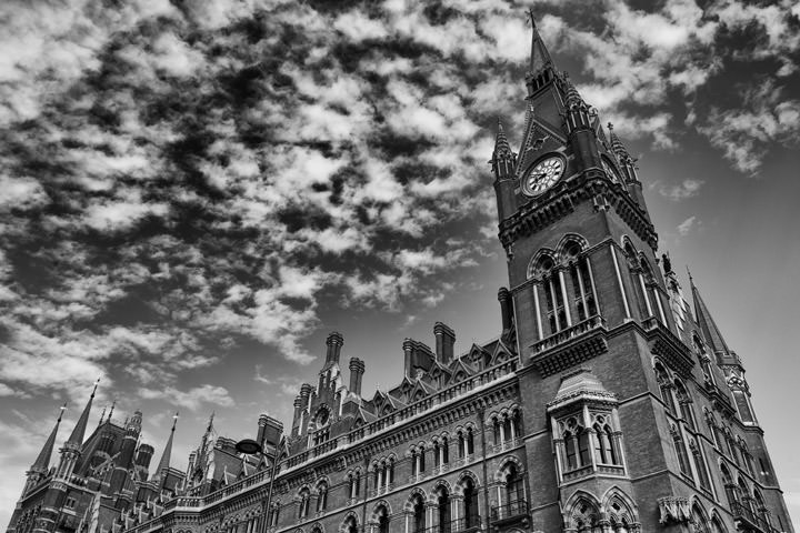 Photograph of St Pancras Station 5