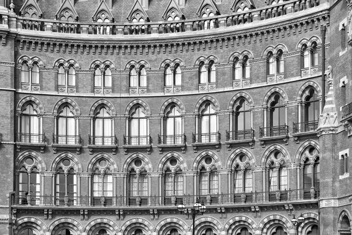 St Pancras Station Architectural Detail