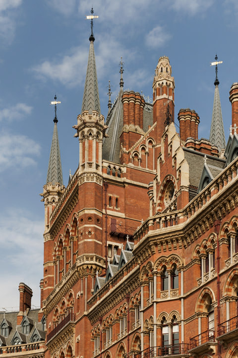 Photograph of St Pancras Station 7