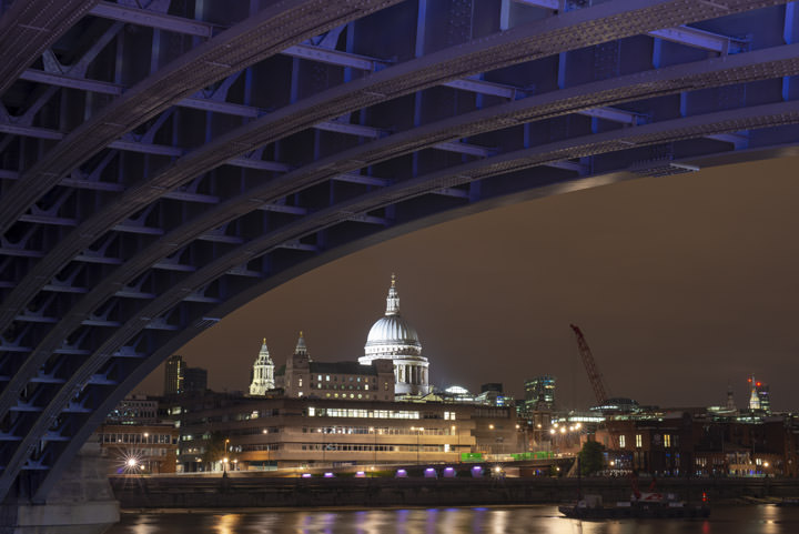 St Pauls Cathedral and Blackfriars Bridge