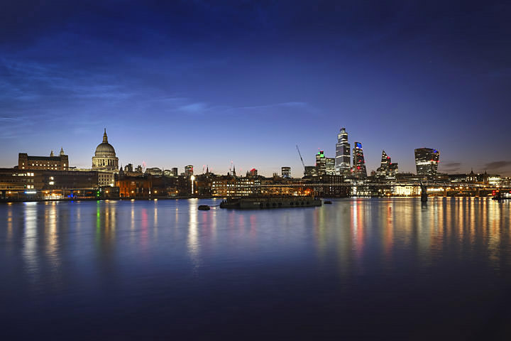 St Pauls City Skyline Dawn