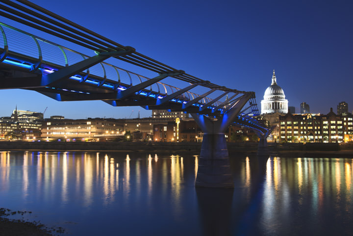 Photograph of St Pauls Millennium Bridge 4
