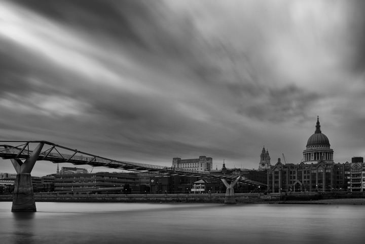 Photograph of St Pauls Millennium Bridge 5
