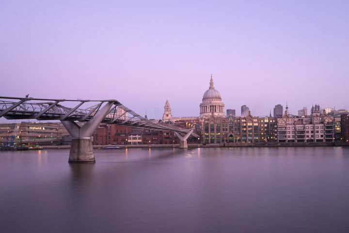 Photograph of St Pauls Millennium Bridge 8