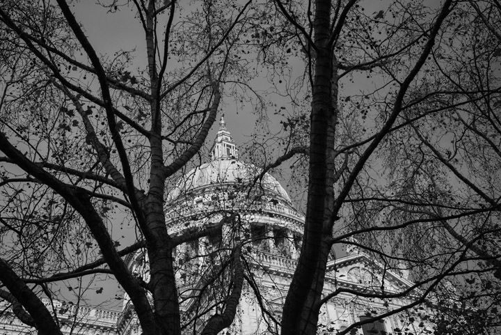 Photograph of St Pauls in Winter
