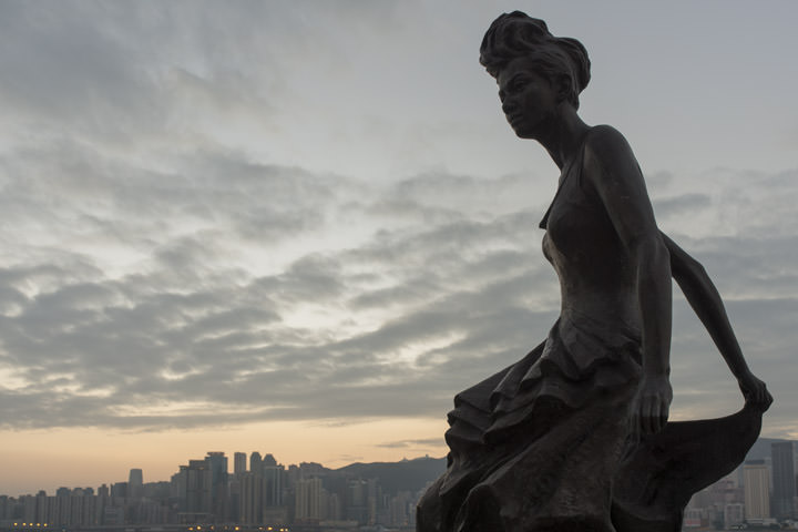 Photograph of Statue of Anita Mui 1