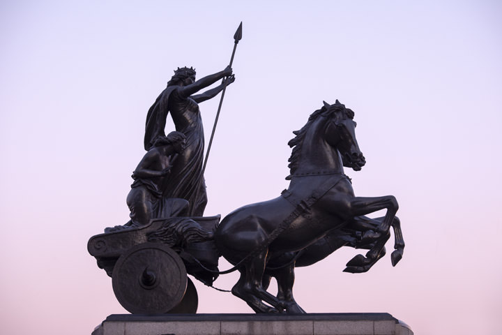 Photograph of Statue of Boadicea