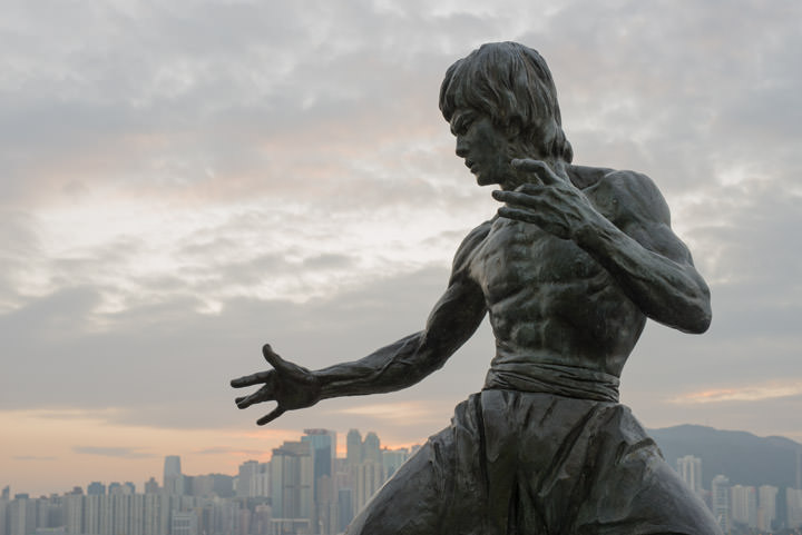 Photograph of Statue of Bruce Lee 2
