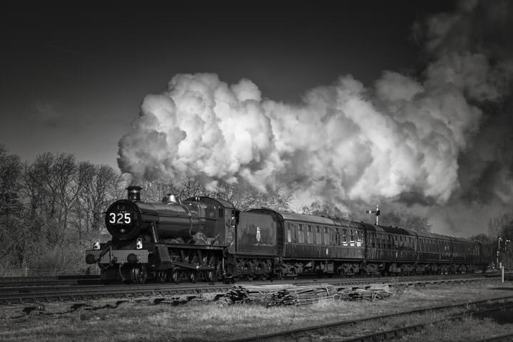 Photograph of Steam Train 325