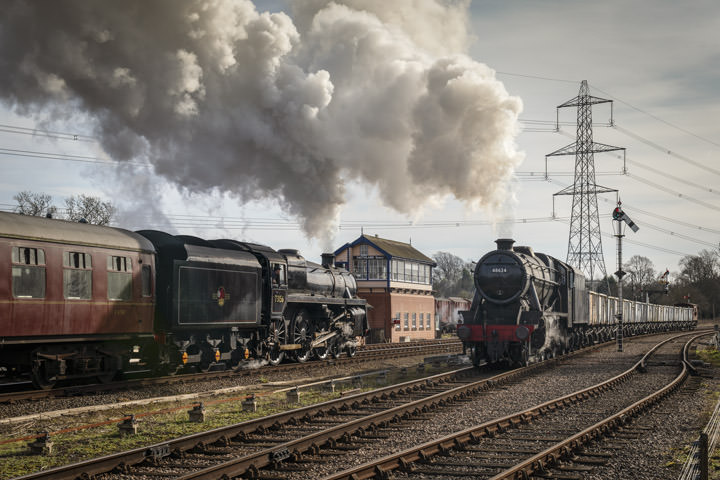 Photograph of Steam Trains 2