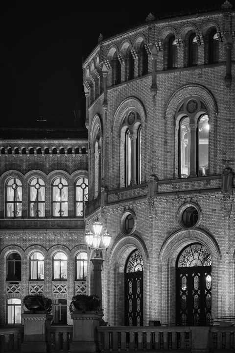 Photograph of Storting Building Oslo 5