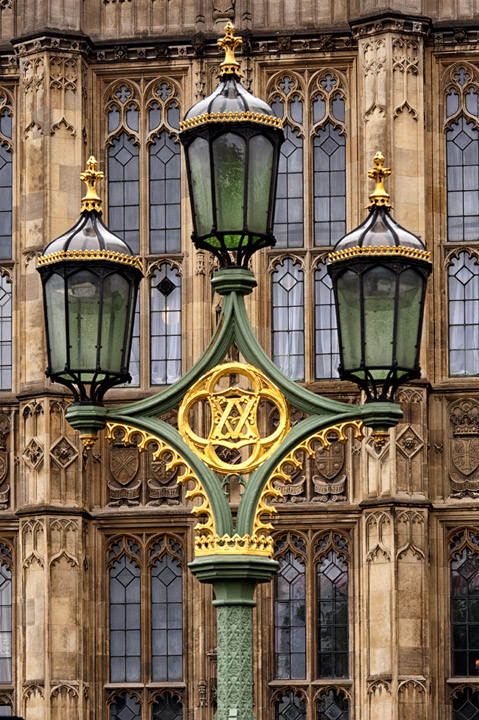 Streetlamp at Houses of Parlaiment