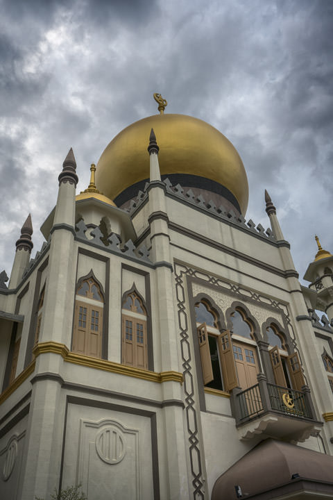 Photograph of Sultan Mosque 1