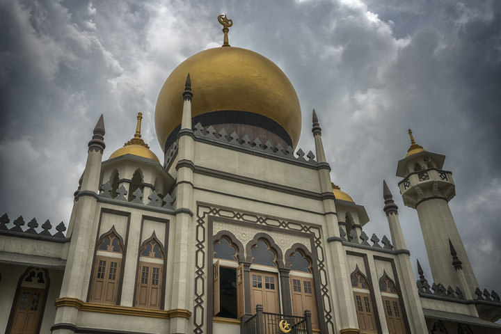 Photograph of Sultan Mosque 2