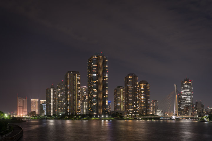 Photograph of Sumida River Skyline 1