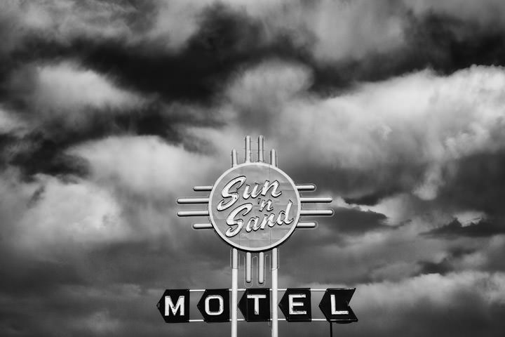 Sun and Sand Motel -  Route 66 Santa Rosa - New Mexico