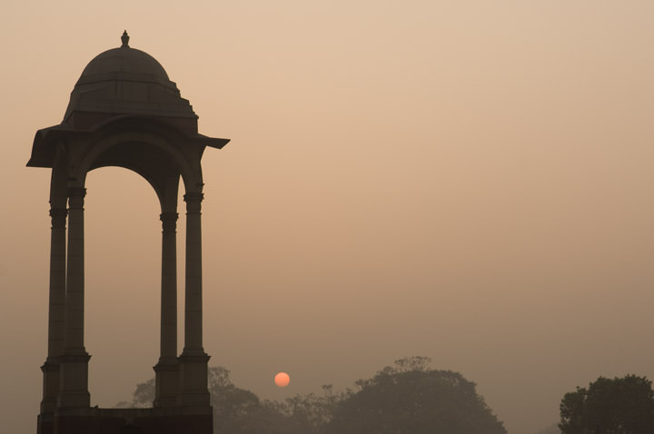 Sunrise Dehli - India