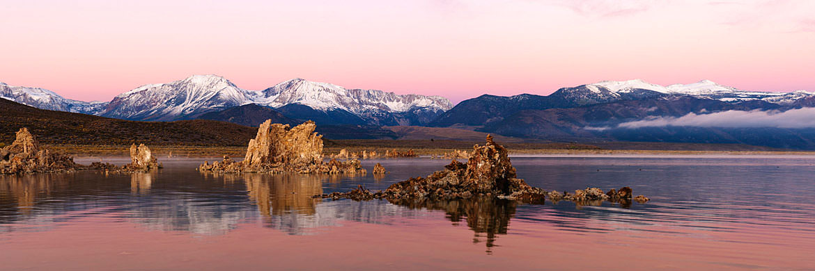 Photograph of Sunrise at Mono Lake