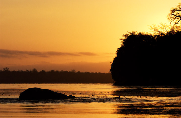 Sunrise at Sands River Tanzania - Africa