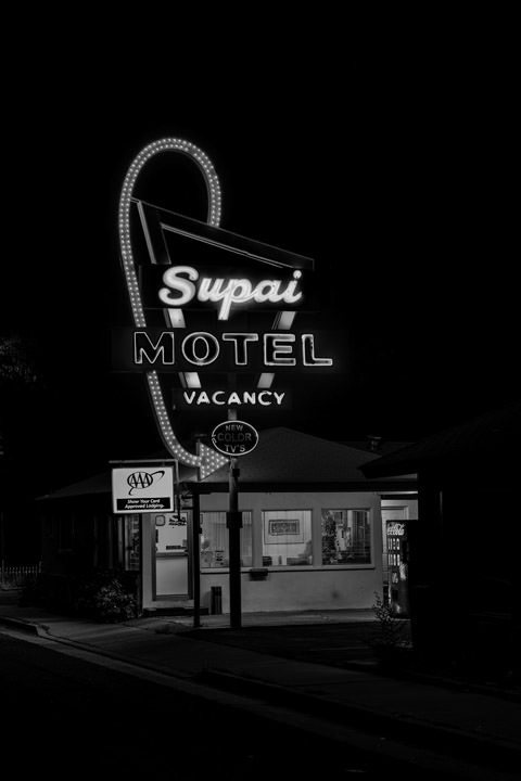 Photograph of Supai Motel Seligman