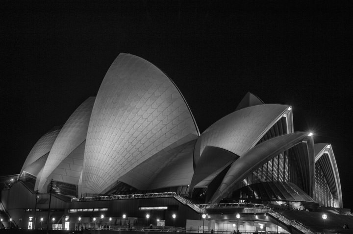 Photograph of Sydney Opera House 1