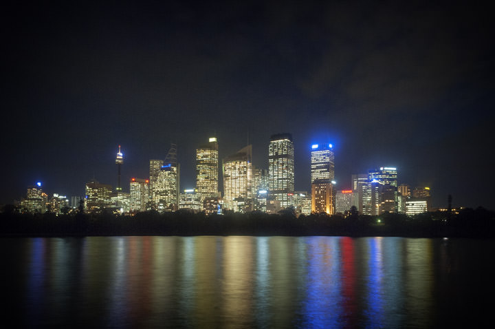 Photograph of Sydney Skyline