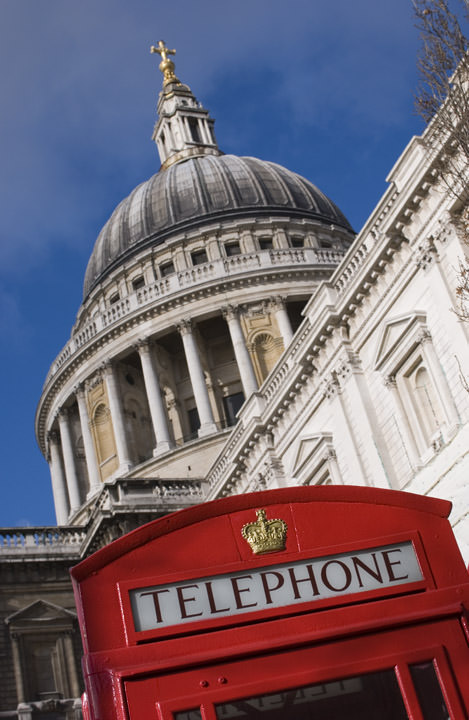 Photograph of Telephone Box - St Pauls Cathedral
