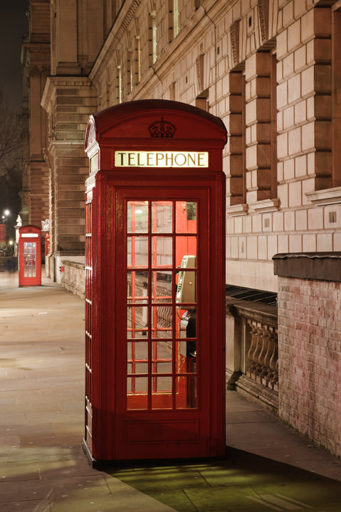 Telephone Boxes - Westminster