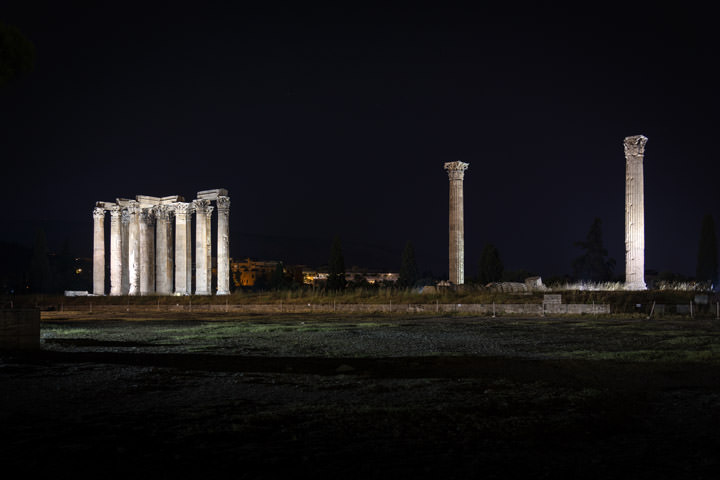 Photograph of Temple of Zeus 1
