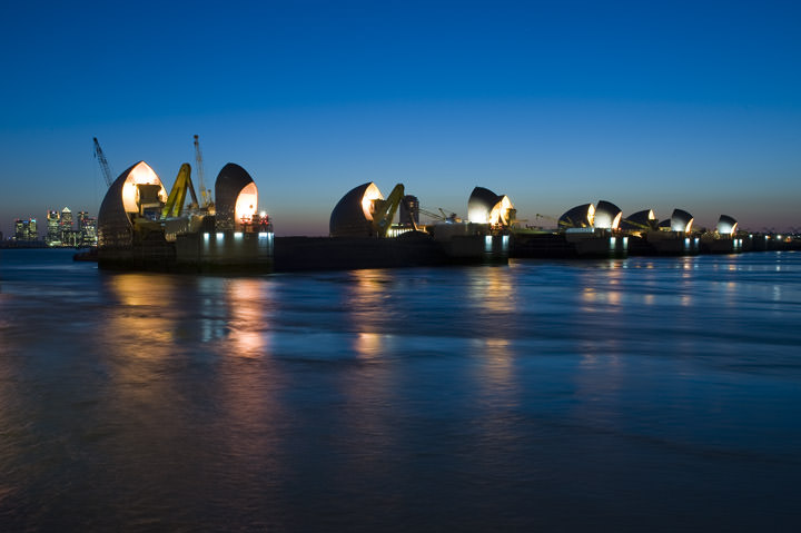 Photograph of Thames Barrier 1