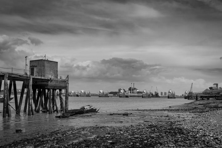 Photograph of Thames Barrier 11