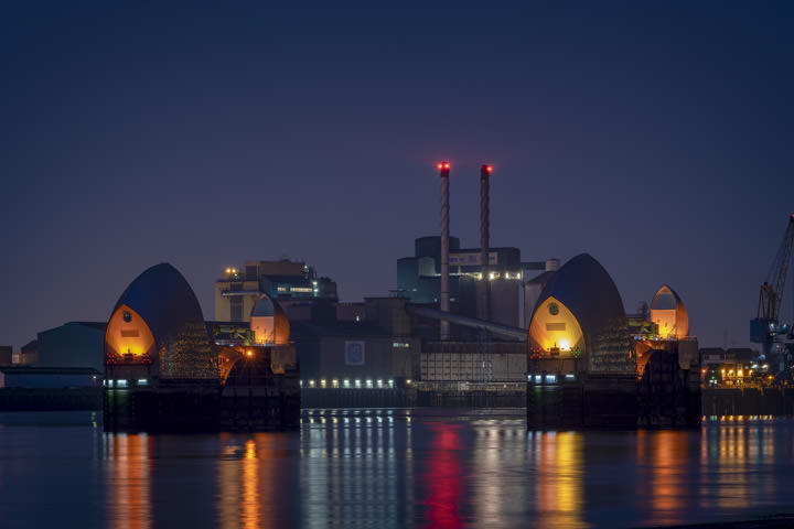 Photograph of Thames Barrier 12
