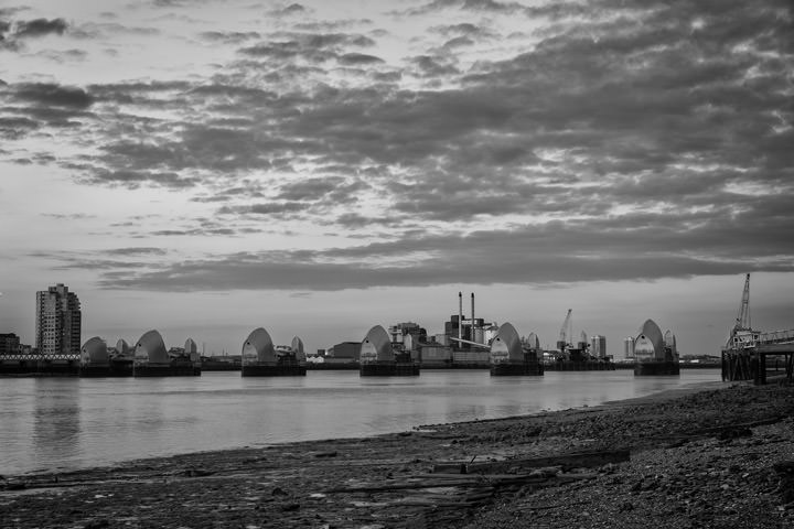 Photograph of Thames barrier 13