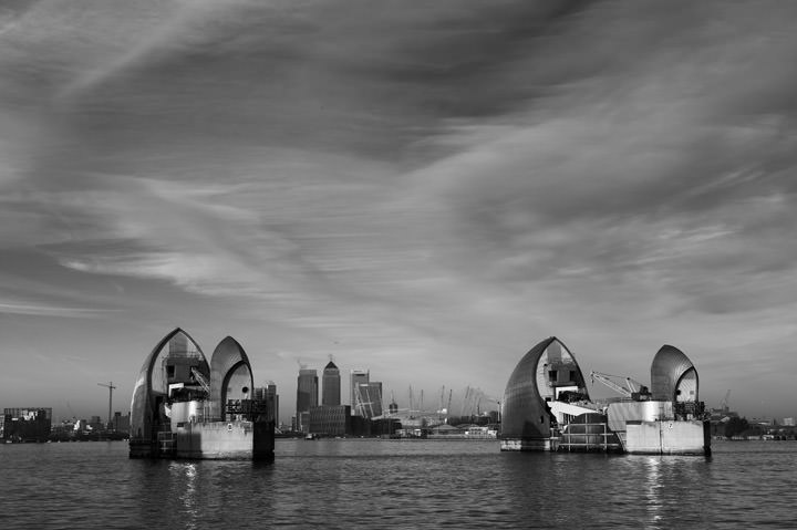 Photograph of Thames Barrier 2