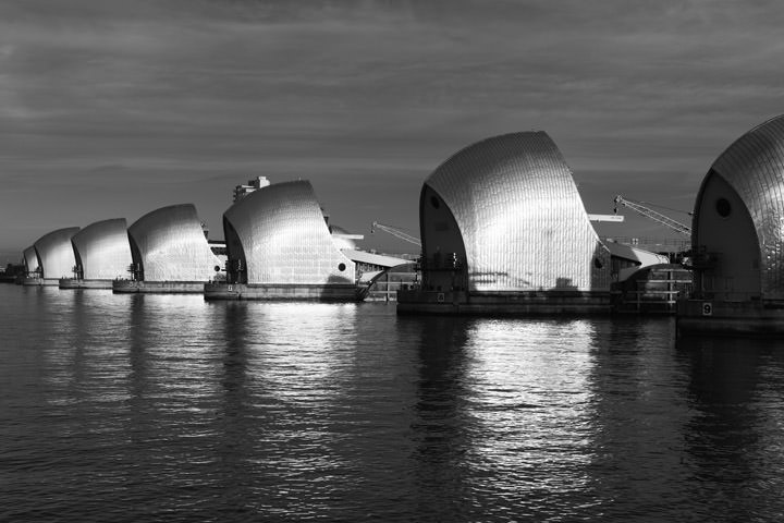 Photograph of Thames Barrier 3