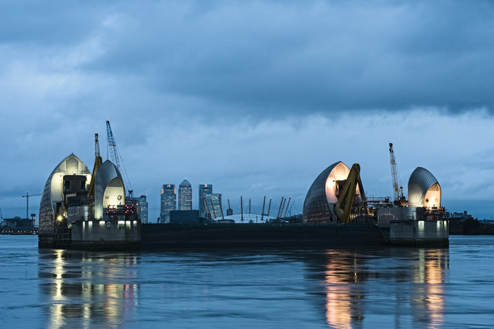 Photograph of Thames Barrier 4